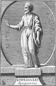 Empedokles (495-435 SM), filsuf yang menelurkan prinsip yang sama mengenal yang sama