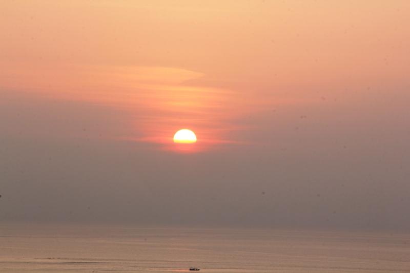 Sunset dari puncak Bukit Joko Tuo
