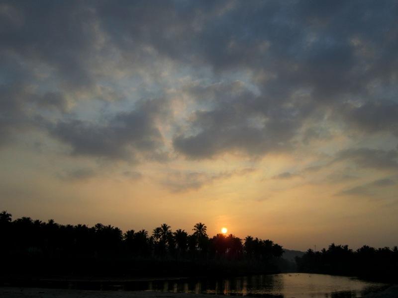 Sunrise di Sawarna