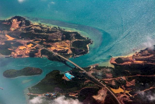 JUARA HARAPAN 2 Zul Khalid Diantara Dua Pulau, Jembatan Sultan Zainal Abidin Batam
