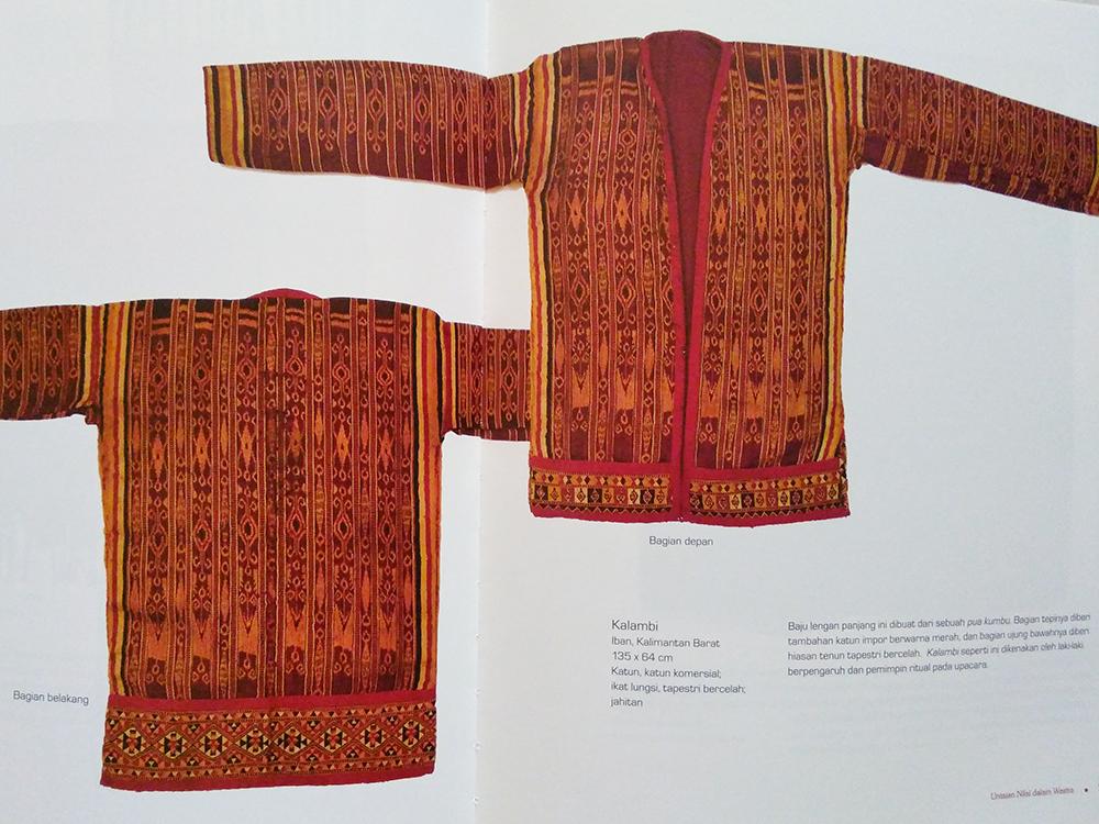 Wastra Koleksi Ibu Jo dari Pulau Kalimantan